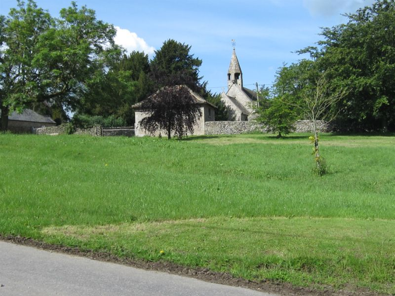 St James Church from Village Green